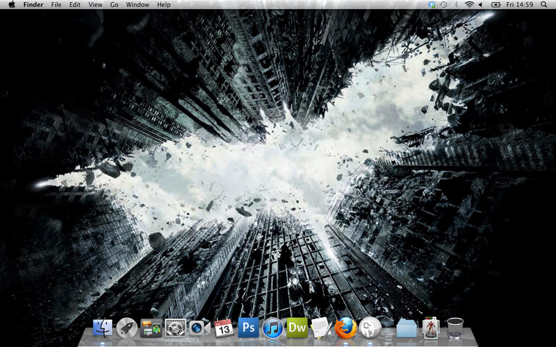 My Desktop 13th July - Dark Knight RIses